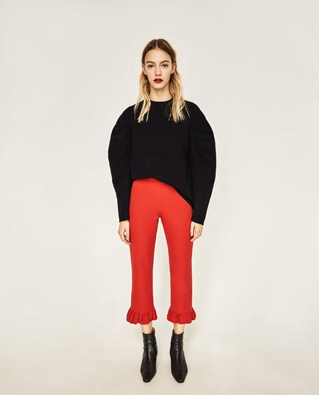 tendencias 2017 volantes pantalon