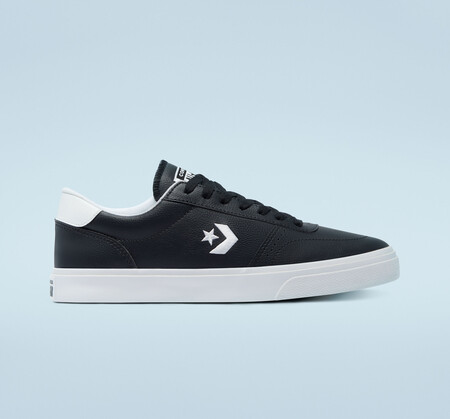 Faux Leather Converse Boulevard Low Top