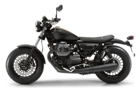 Moto Guzzi V9 Bobber Bobber Latsx Nero