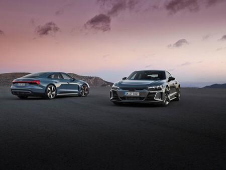 Audi e-tron GT es oficial: hasta 630 CV y 250 km/h para un deportivo eléctrico que oculta un Porsche Taycan en su interior