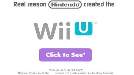 Imagen de la semana: el verdadero motivo por el que Nintendo creó la Wii U