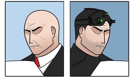 Imagen de la semana: la sutil diferencia entre el agente 47 y Sam Fisher