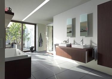 Colección de muebles de lavabo de Philippe Starck para Duravit