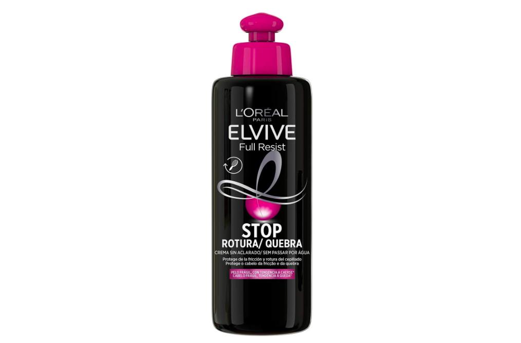 L'Oréal Paris Elvive Full Resist Crema sin Aclarado Stop Rotura para Pelo Frágil con Tendencia a Caerse - 200 ml