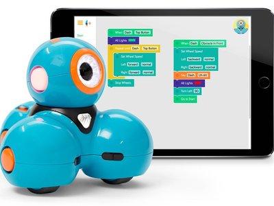 Robot educativo Dash de Wonder Workshop con un 50% de descuento y envío gratis
