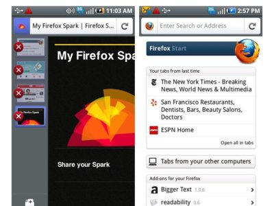 Firefox 4 Mobile disponible para Android y Maemo