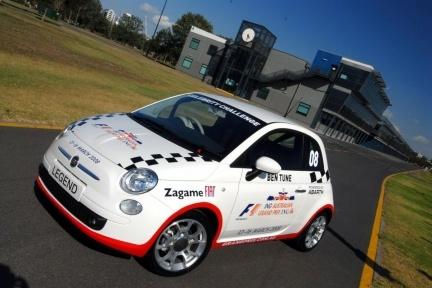 Fiat 500 para el GP de Australia de F1