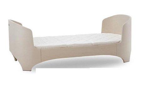 cama minimalista dormitorio infantil claro