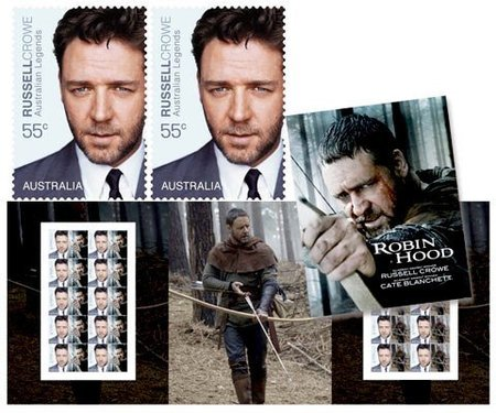 Ya puedes lamer a Russell Crowe... si te compras su sello