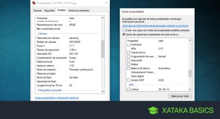 Qué son y cómo borrar los metadatos de una foto en Windows 10