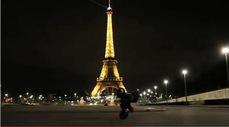 Thibaut Nogues nos da una lección de stunt en un escenario inmejorable
