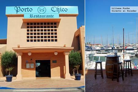Restaurante Porto Chico, buenos arroces y pescados en las Salinas de San Pedro