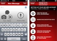 Wickr, mensajería con seguridad de alto grado militar para iOS