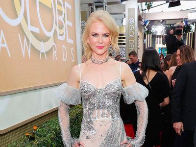 Los Globos de Oro 2017 tienen a su particular Reina de la Nieves: Nicole Kidman