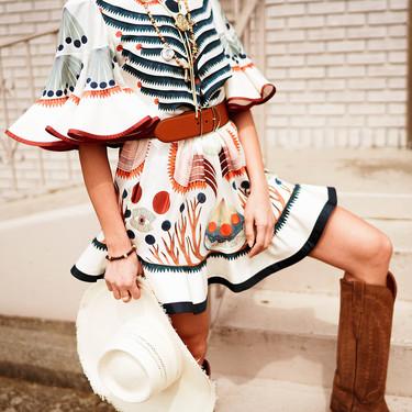 Clonados y pillados: el vestido de Chloé que más triunfa en RRSS ahora puede ser tuyo por mucho menos (¡y rebajado!)