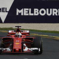 Sebastian Vettel guía la vuelta de Ferrari a la victoria