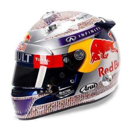 El nuevo casco de Sebastian Vettel y su significado