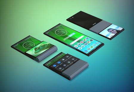 Lenovo también quiere su smartphone flexible: tendría dos pantallas, pero una encima de la otra