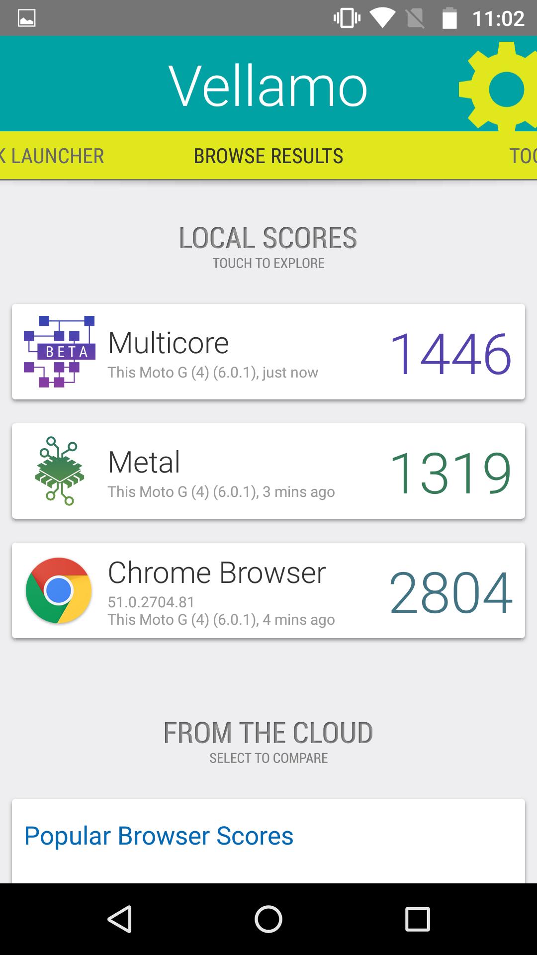 Foto de Moto G4, benchmarks (20/30)
