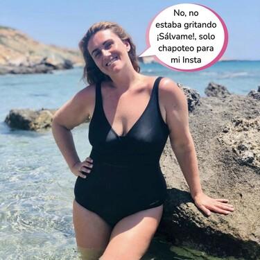 ¿Es una sirena? ¿Es un calamar? Es Carlota Corredera chapoteando en Instagram: las vacaciones más divertidas de la presentadora de 'Sálvame'