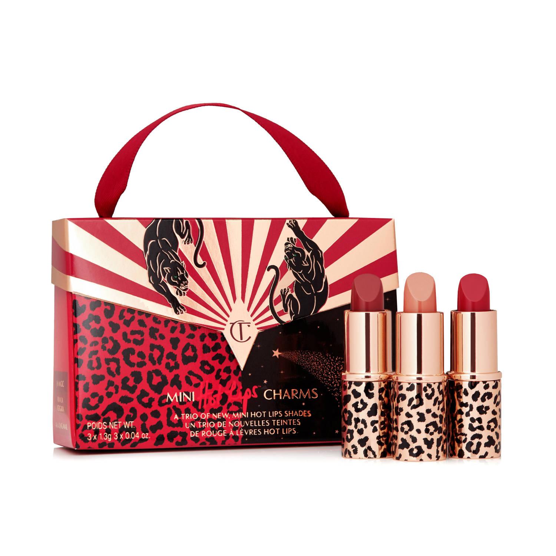 CHARLOTTE TILBURY Mini Lipstick Trio Handbag