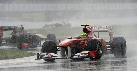GP de Gran Bretaña F1 2011: segundos libres con Felipe Massa comandando