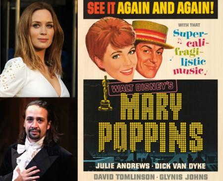 'Mary Poppins Returns': Emily Blunt y Lin-Manuel Miranda protagonizarán la secuela (ACTUALIZADO)