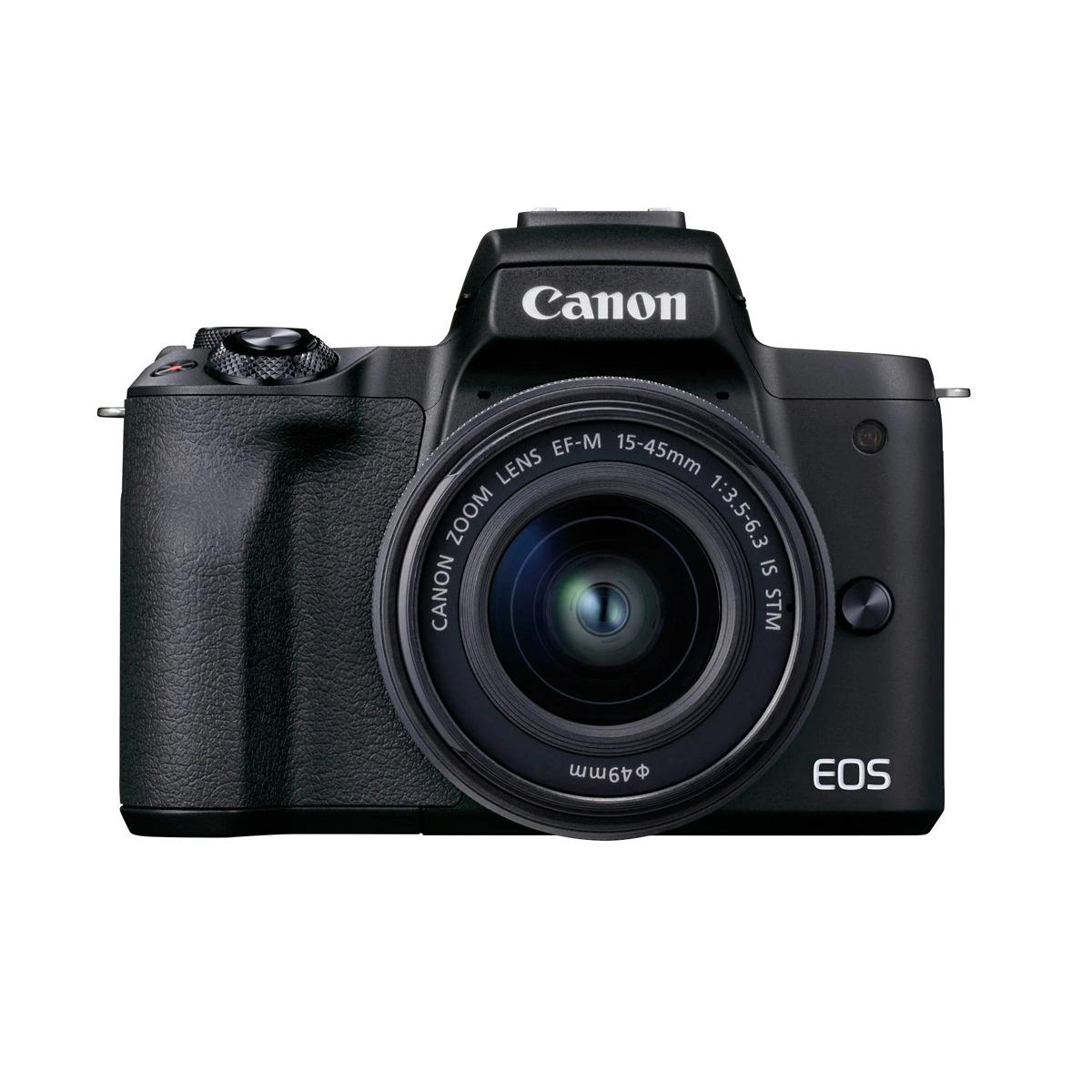 Cámara Evil Canon EOS M50 Mark II Negra con Objetivo 15-45MM S
