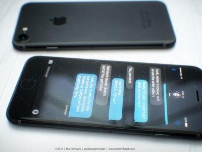 Nueva entrega de renders del iPhone 7 en 'space black' (mucho más reales)