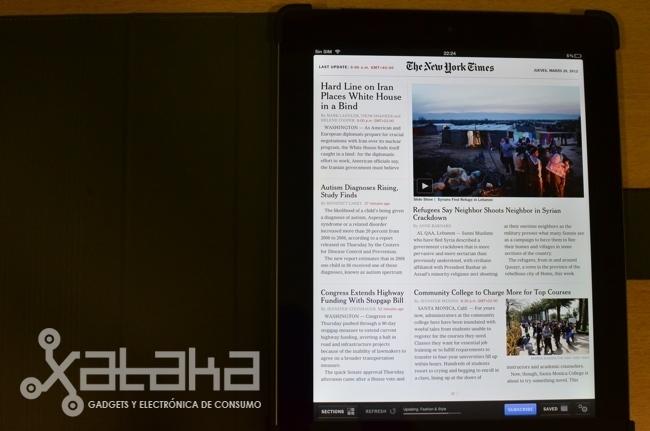 Análisis nuevo iPad  libro