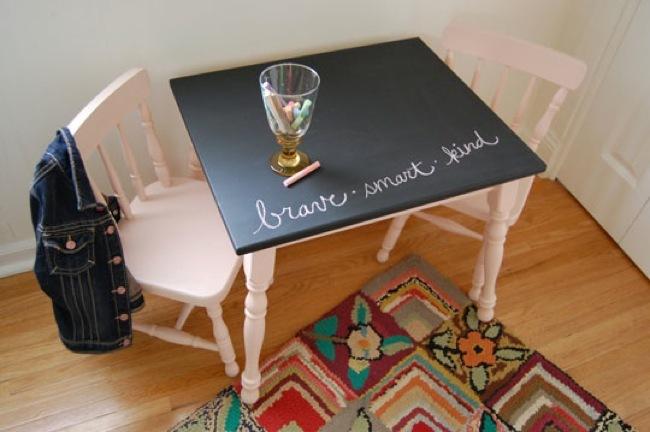 mesa y sillas despues
