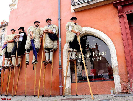 A Runner Up From Pipa In Travel Category Capturing Men On Stilts In Issoire By Thr1 8