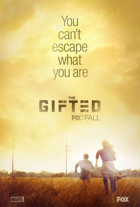 The Gifted Fox Marvel Tv Series Poster