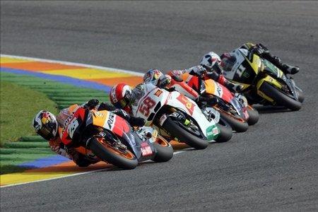 Lista provisional de pilotos; Mundial de MotoGP 2011