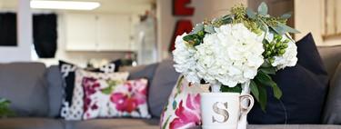 Nueve ambientes irresistibles para decorar con jarrones y flores, los pequeños rincones del hogar