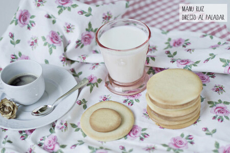 Galletas de mantequilla exprés, receta fácil y rápida