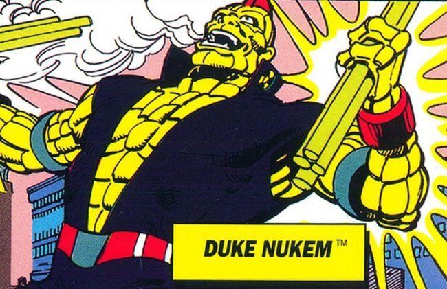 Duke Nukem (Capitán Planeta)