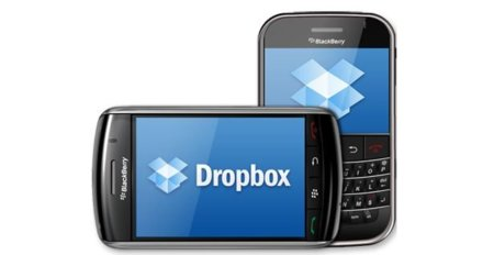 Disponible actualización de Dropbox para BlackBerry
