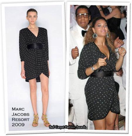 El look de Noche Vieja de Beyoncé