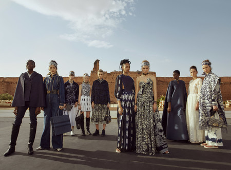 Dior Cruise 2020 Groupshot C Nadine Ijewere For Dior