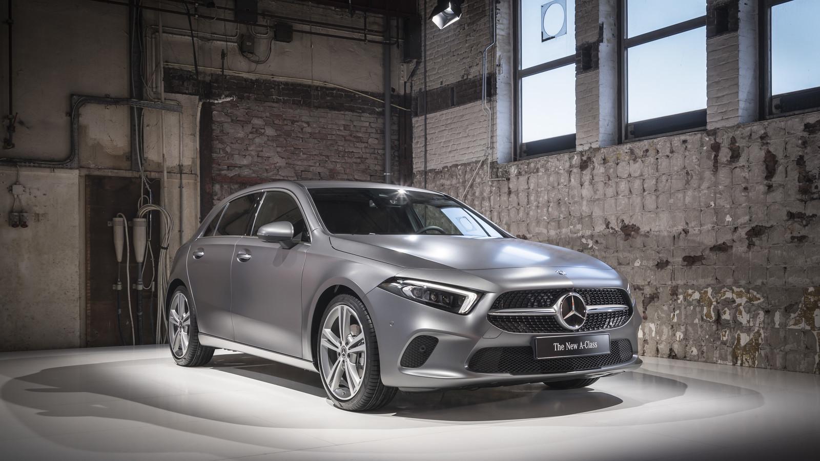 Foto de Mercedes-Benz Clase A 2018 - presentación (10/114)