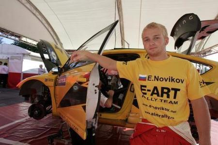 Evgeny Novikov se queda sin presupuesto para el Mundial