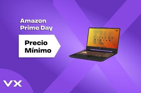 Este portátil gaming de Asus con pantalla de 144 Hz está a precio de derribo en el Prime Day: sólo 599,99 euros