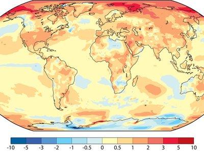 El mundo se está convirtiendo en un horno en vivo y en directo: 2017 fue el segundo año más caluroso desde que tenemos registros