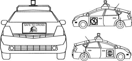 Google Car Deteccion Peatones