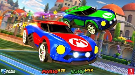 La versión de Nintendo Switch de Rocket League incluirá coches exclusivos de Mario y Metroid [GC 2017]