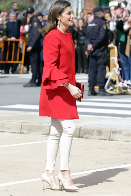 Abrigo Rojo Letizia