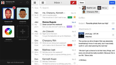 Gmail 2.0 llega a iOS, un posible cliente de correo definitivo para Gmail