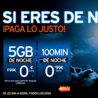 Simyo refuerza su apuesta por los bonos con horarios: ahora 5 GB por 1,99 euros y hasta dos meses gratis