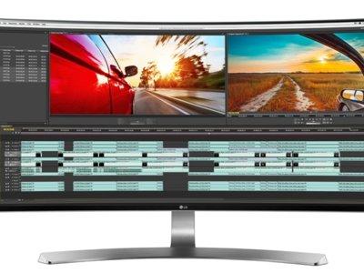 LG pone a la venta su nuevos monitores panorámicos 4K de 34 y 27 pulgadas